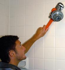 We install low flow and water saver fixtures